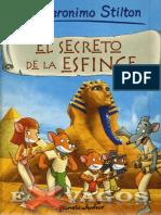 Comic 03 El Secreto de La Esfinge - Geronimo Stilton