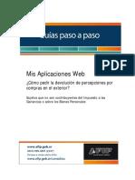 AFIP Guia Paso A Paso Mis Aplicaciones Web