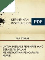 kepimpinan instruksional