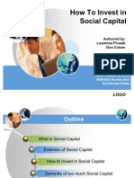 How to Invest in Social Capital