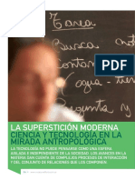 Nota Sobre Antropologia de La Ciencia