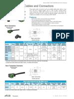 Solenoid Valve Cables Conn