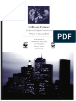 Collision Course - The Hazards of Lighted Structures and Windows to Migrating Birds (1996, WWF, F.L.a.P.)