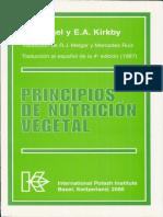 Principios de Nutricion Vegetal Mengel