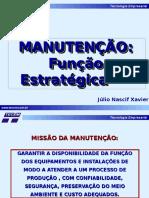Manutenção Função Estratégica Nascif