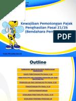 S PPh 002-15-00 Kewajiban Pemotongan PPh Pasal 21 Bendahara