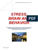 "Program and Proceedings - 23rd International ""STRESS AND BEHAVIOR"" Neuroscience and Biopsychiatry Conference, St-Petersburg, Russia (May 16-19, 2016)"