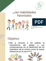 Taller Habilidades Parentales