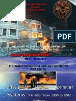 NFPA 13 Installation of Sprinkler Systems