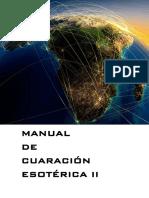 Manual de Curación Esoterica II