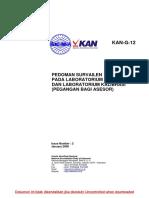 G-12 Pedoman KAN Pegangan Asesor (Lab) (in)