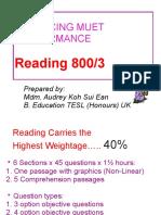 MUET Reading tips