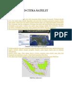 Pengolahan Peta Landsat
