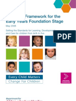 EYFS Statutory Framework May 2008
