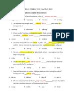 Sentence Completion Practice Test Mar26 27