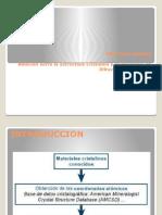 Relación Entre La Estructura Cristalina y El Diagrama de Difracción de Rayos X