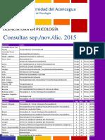 Consultas Psi 2016