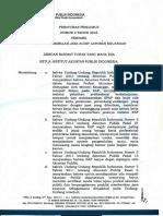 PP No 2 Tahun 2016 Tentang Penentuan Imbalan Jasa Audit Laporan Keuangan (OK) 27-01-16