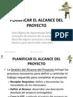 1.2.1 Planificar El Alcance Del Proyecto