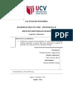 Inf. Prácticas Preprofesionales II - Luiggi