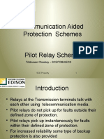 Communication Aided Protection Schemes