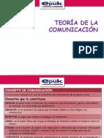 1.1 Teoria de La Comunicación