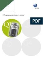 Report Q1 2010