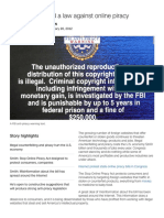 why we need a law against online piracy - cnn