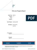 2015-16 mid-year progress report -sample