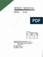 Manual Servico Balanca Eletronica Ds 685b