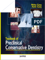 Textbook of Preclinical Conservative Dentistry