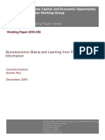 Kuhnen Miu 2015 SES-learning