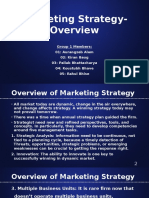 Marketing Strategy-Overview
