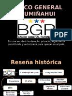 Banco General Rumiñahui Y Cooperativa 14 de Marzo