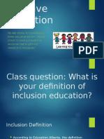 inclusive education  1