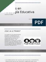 Modelos en Psicología Educativa (1)