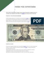 Las 12 Monedas Más Comerciadas Del Mundo