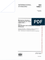 ISO 1940-1 Balancing