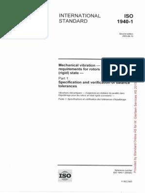 iso 1940-1 pdf