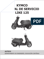 Manual de Servicio Kymco Like 125
