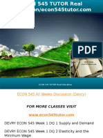 ECON 545 TUTOR Real Education-econ545tutor.com
