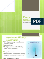 Energy Efficiency in Equipments