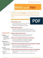 XMIND2008pro datasheet