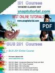 BUS 201 Academic Success/ Snaptutorial
