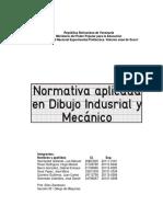 Normativa Aplicada en Dibujo Industrial y Mecánico