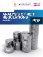 Analysis of Reit Regulations in India