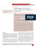 Epidemiological Study of Road Traffic Accident Cases