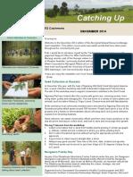 Catching Up Aboriginal Newsletter Dec 2014