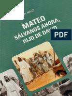 Libro Complementario- 2do Bim-Mateo- Sálvanos Ahora, Hijo de David