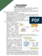 Inmunología 2º Bachillerato
